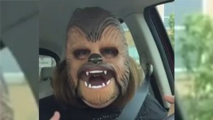 'Chewbacca Mom' Breaks Facebook Live Record