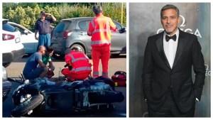 Italian Driver Describes How Clooney's Scooter 'Slammed' Car