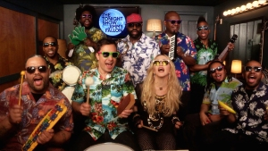 Jimmy Fallon, Madonna & The Roots Play Classroom Instruments