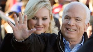 Watch: Biden Consoles Daughter of Ailing Sen. John McCain