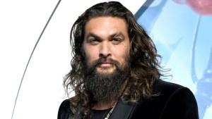 Jason Momoa Shaves Signature Beard to Promote Recycling