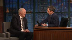 'Late Night': John Lithgow Rescued an Old Woman During Show