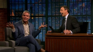'Late Night': Andy Cohen Forgets Show's Guests