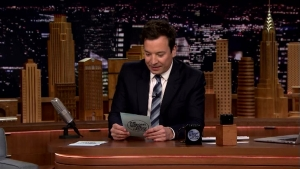 'Tonight': Fallon Reads Summer Rap Tweets