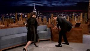 'Tonight': Felicity Jones Demos 'Star Wars' Fight Moves
