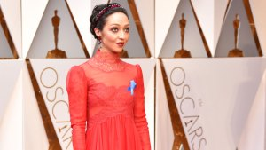 Here's What The Blue Ribbons Mean on Oscars Red Carpet