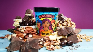 Ben & Jerry's Unveils Pecan Resist Flavor Ahead of Midterms