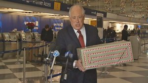 Quinn Departs for Maryland to Visit Soldiers