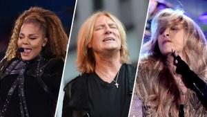 Janet Jackson, Def Leppard, Nicks Join Rock Hall of Fame