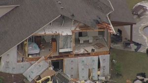 Texas Sky Ranger: Storm Damage in Rockwall, Tarrant Co.