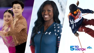 5 to Watch: Ice Dancers to Twizzle for Gold, Aja Evans Makes Pyeongchang Debut, Bowman Looks to Defend Spot on Podium