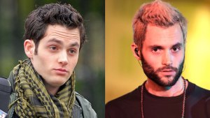 'Gossip Girls' Star Penn Badgley Debuts Totally New Look