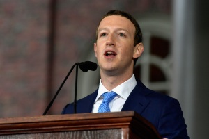 Zuckerberg Gets Emotional During Harvard Commencement Speech