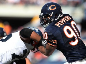 Julius Peppers Is the Man Who Can Stop Michael Vick
