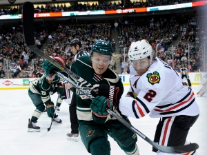 Blackhawks Fall to Wild 4-2 in Game 4