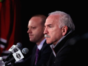 Quenneville Says NHL Sides With Him on Goal Reversal