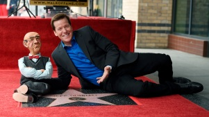 Ventriloquist Jeff Dunham Receives Walk of Fame Star