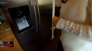 Fridge Installation Causes Big Damage at Oswego Home