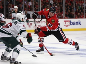 Three Stars: Saad Scores Twice as Hawks Hammer Wild