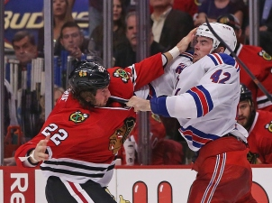 Rangers Top Blackhawks 4-1