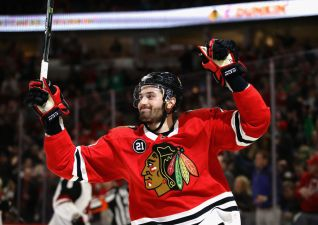 Perlini Gets Hat Trick as Blackhawks Cool Down Coyotes 7-1
