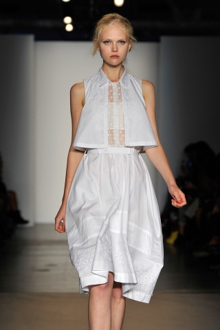 Trend Watch: Summer Whites Straight Off the Runway