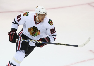 Hossa Named First Star of the Week by NHL