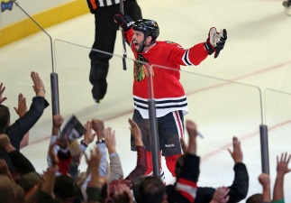 Blackhawks Ship Bollig to Calgary