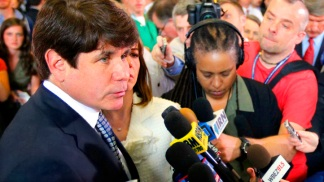 Scenes From the Blagojevich Verdict
