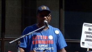 CTU Holds Labor Day Rally
