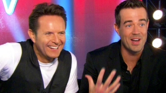 "Carson Daly & Mark Burnett on ""The Voice"" Season 2"