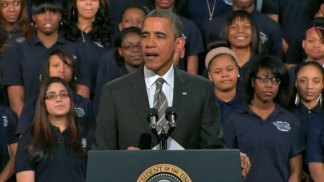 Obama Gets Personal in Chicago Speech