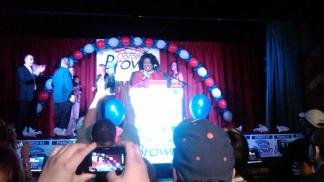 Dorothy Brown's Victory Speech
