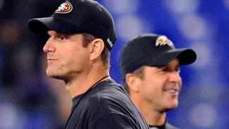 Harbaugh Brothers Talk Super Bowl Faceoff