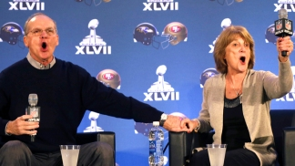 Super Bowl Is a Harbaugh Family Affair