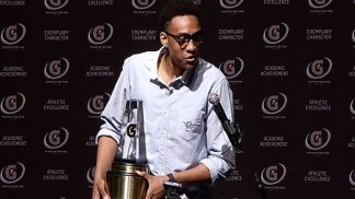 Jabari Parker Reacts to Award