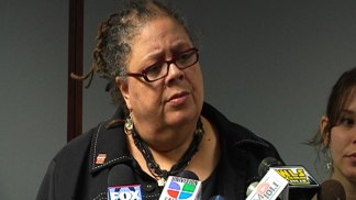 Karen Lewis Defiant in Press Conference