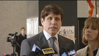 Blago Reacts to Emanuel, Jackson Testimony