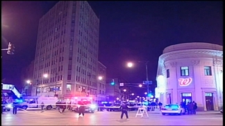 Raw: Police Activity in Bucktown