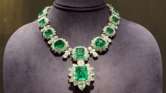First Look: Elizabeth Taylor's Spectacular Jewelry, Fashion On Display at Christie's