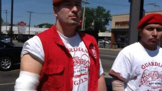 Guardian Angels Slashed on Red Line