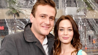"Jason Segel, Emily Blunt on ""The Five-Year Engagement"""