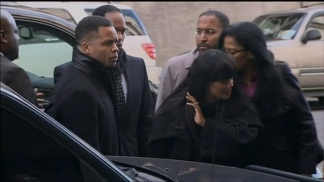 Jesse Jackson Jr., Sandi Jackson Arrive For Court