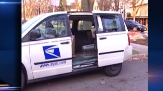 Thieves Strike Mail Vans