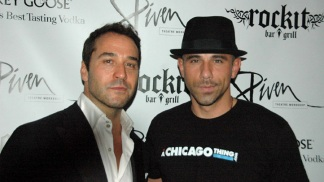 Piven and Entourage Hit Chicago