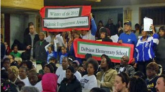 West Siders Rally Against School Closings