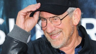 Steven Spielberg Hits Transformers: The Ride-3D Grand Opening