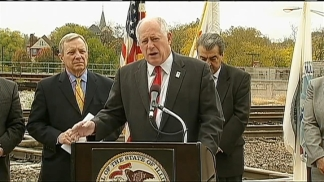 Quinn Touts High Speed Rail