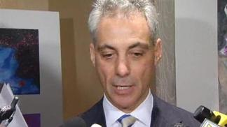 Rahm Reacts to Obama's 2012 Bid