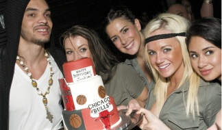 PHOTOS: Joakim Noah's Underground Birthday Bash
